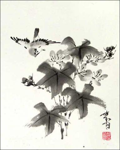 поэзия и живопись японии