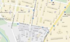 Схема прохода к с/к »Свиблово» от метро »Ботанический сад»