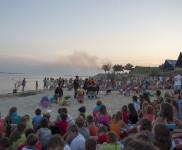 Участники летнего айкидо-лагеря на Черном море — 2013