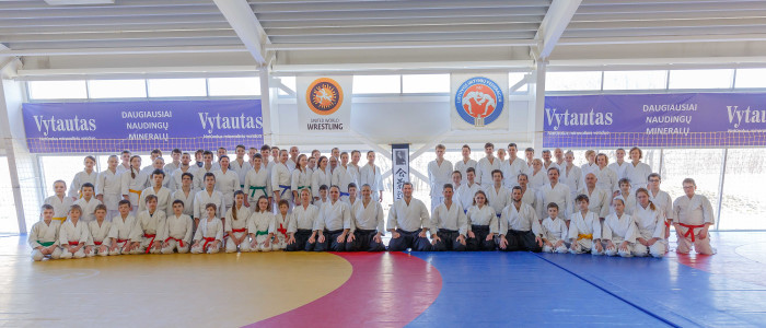 Фотоотчет о весеннем семинаре В. Грачёва (6 дан) в Литве — 2016