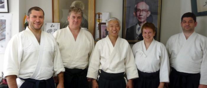 Фото-отчет о стажировке группы Койнобори Додзё в АЙКИКАЙ Хомбу Додзё (Япония, 24 октября-8 ноября 2015)