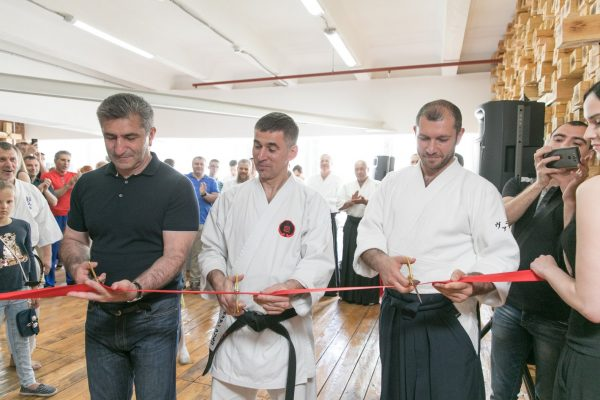 Открытие нового зала ростовского отделения ЦАА «Койнобори Додзё»