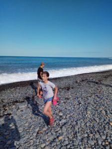 Летний детский айкидо лагерь Койнобори Додзё на море