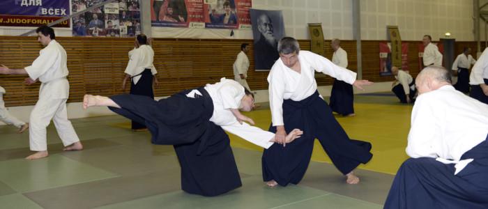 Международный семинар по айкидо под руководством сихана Сёдзи Сэки 2020