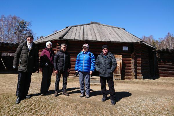 Сихан С.Сэки (8 дан) на семинаре в Иркутске, апрель 2019