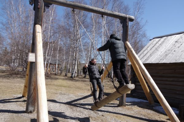 Сихан С.Сэки (8 дан) в Иркутске, апрель 2019