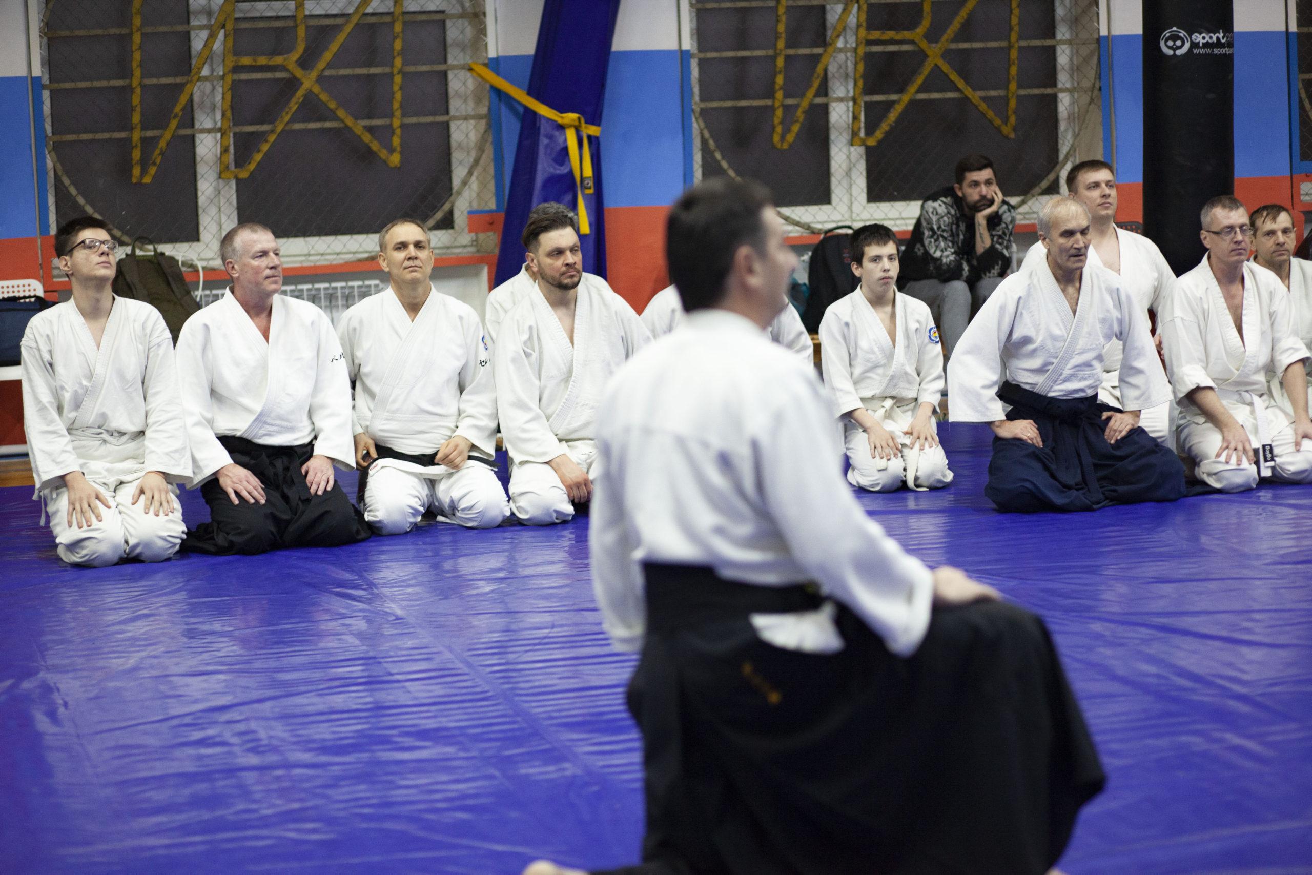 Семинар В.И.Грачёва (6 дан, сидоин) в Ростове-на-Дону