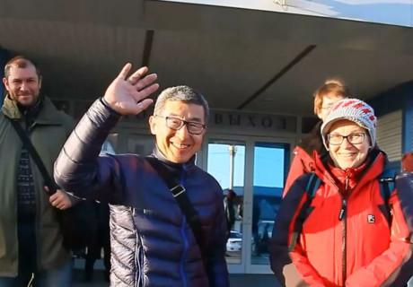 Премьера фильма о семинаре сихана Сёдзи Сэки (8 дан) в Иркутске