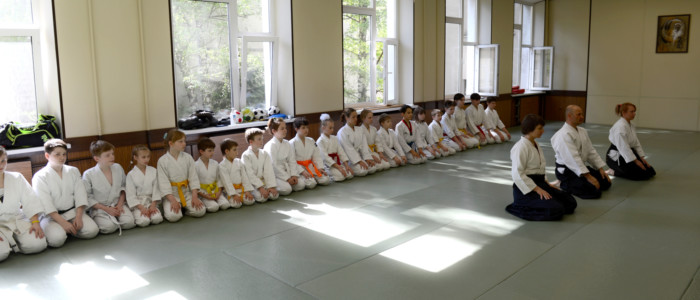 Детские семинары и экзамены по айкидо май 2021