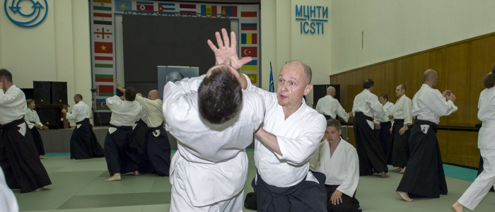 Мастер-класс С.В.Кириенко (5 дан айкидо АЙКИКАЙ) в День России